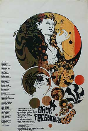 14 Hour Technicolour Dream Poster