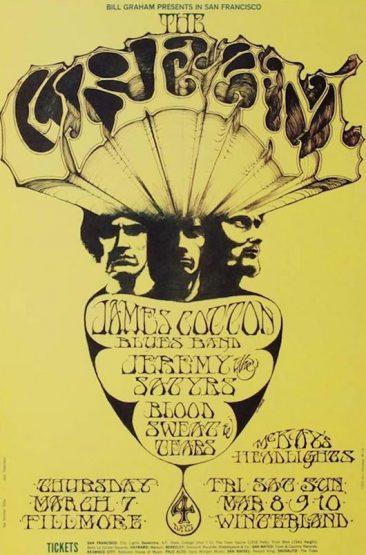 Even After Their Split, Cream Were Still 'Live'