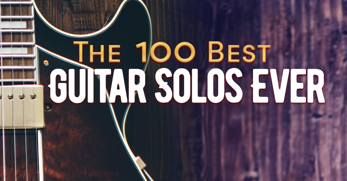 Top 100 Guitar Solos | uDiscover