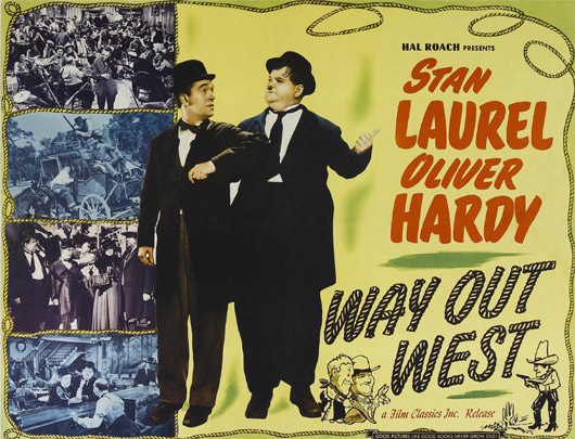 Laurel And Hardy Way Out West