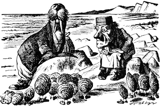 Lewis Carroll Walrus And Carpenter