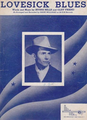 First Of 11 For Hank Williams With 'Lovesick Blues'