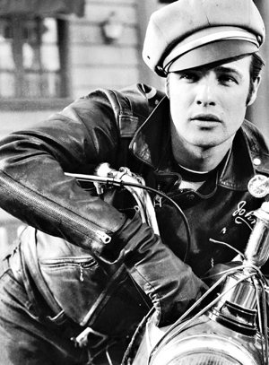 Marlon Brando's iconic movie 'The Wild One' featured a gang called The Beetles