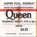 Queen Arrive At Wembley In 1978 Milestone
