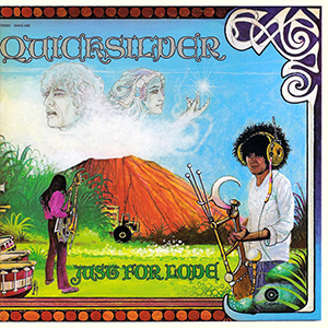 Quicksilver Messenger Service Just For Love Album Cover