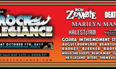 Rob Zombie Rock Allegiance Festival New Jersey