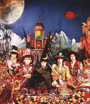 Released in December 1967, 'Their Satanic Majesties Request' revealed the Stones' admiration for 'Sgt Pepper'.