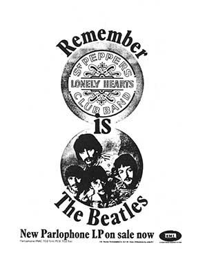 Sgt. Pepper Trade Ad