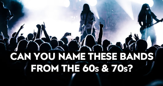 Can You Name These Bands From The 60s Amp 70s Udiscover Music