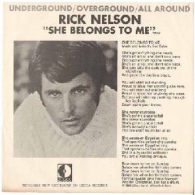 She Belongs To Me Rick Nelson