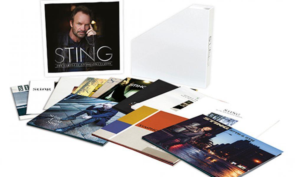 Sting Complete Studio Albums Packshot