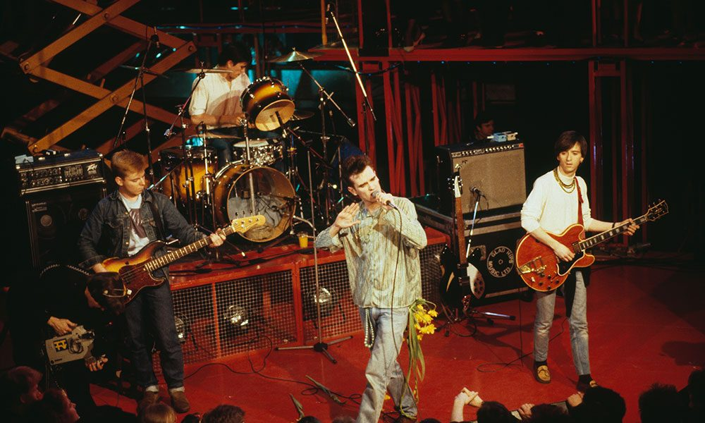 The Smiths photo by Pete Cronin and Redferns and Getty Images