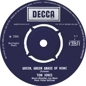 Tom Jones Green Green Grass