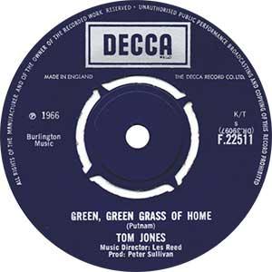 Tom Jones Green Green Grass