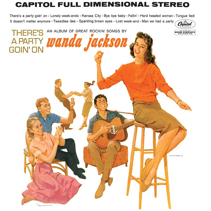 Wanda Jackson There's A Party Goin' On album cover web optimised 820