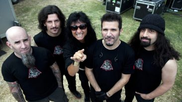 "Anthrax Singer ""In Favour"" Of More 'Big Four' Thrash Metal Shows"