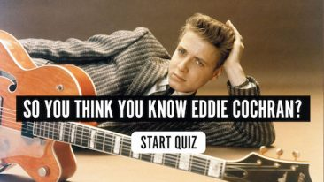 So You Think You Know Eddie Cochran? Quiz