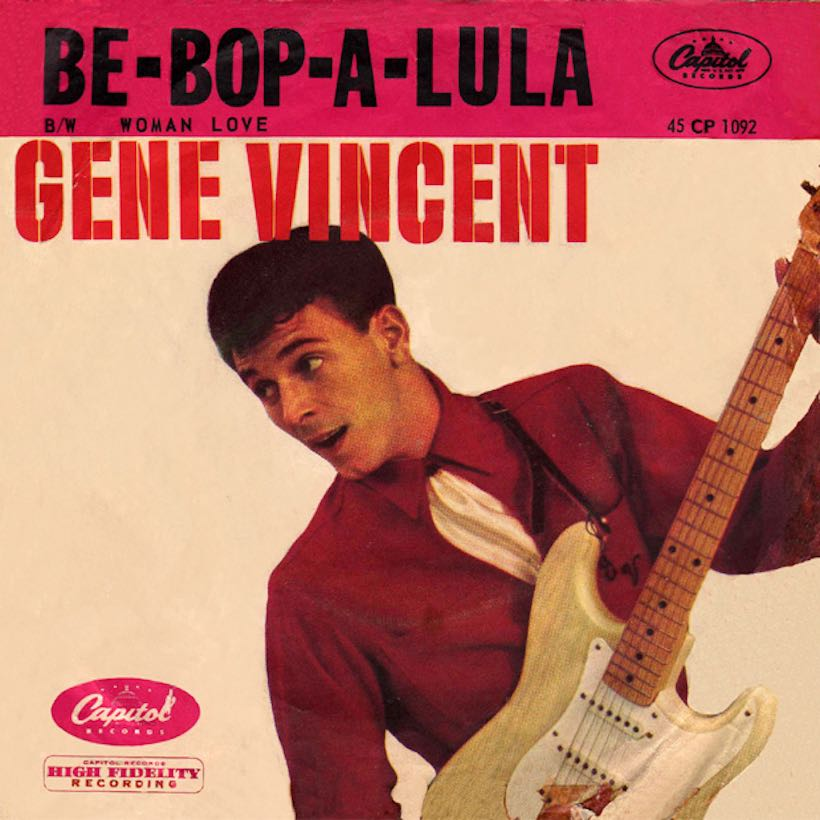 gene vincent didn 39 t mean maybe with be bop a lula udiscover. Black Bedroom Furniture Sets. Home Design Ideas