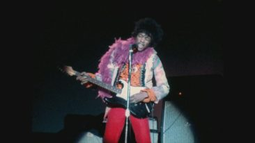 Jimi Hendrix Monterey Pop Festival Stratocaster Up For Auction