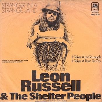Leon Russell Shelter People Stranger In Strange Land