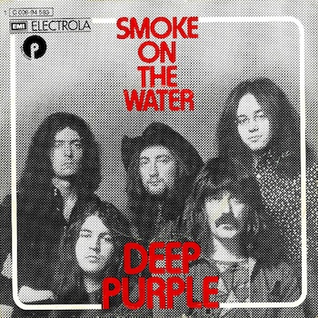 Deep Purple Smoke On The Water single