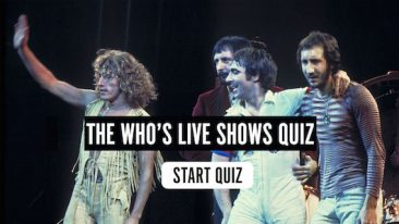 The Who's Live Music Quiz