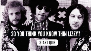 So You Think You Know Thin Lizzy? Quiz