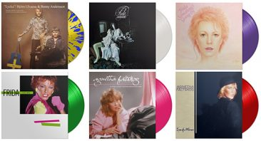 Six Albums From ABBA Solo Repertoire For Vinyl Reissue