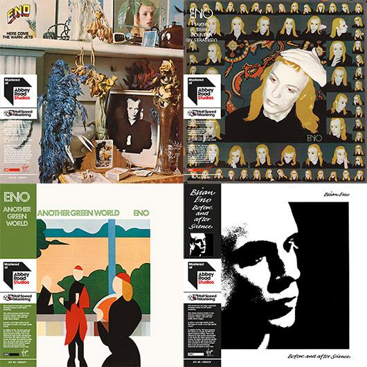 Brian Eno Solo Albums, Half Speed Master