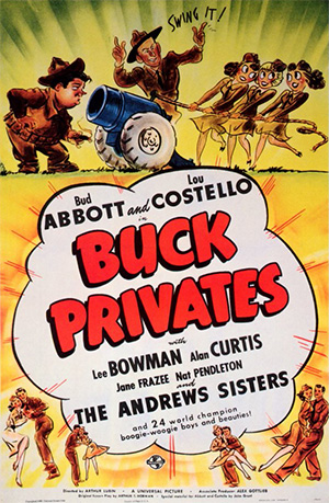 The Buck Privates Film Poster