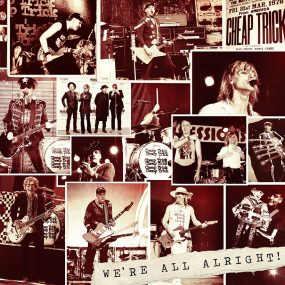 Cheap Trick We're All Alright album cover