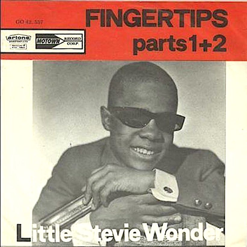 Stevie Wonder Makes Hot 100 Debut By His 'Fingertips'