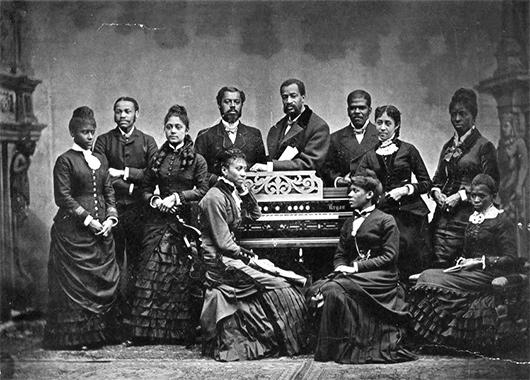 Fisk Jubillee Singers Image