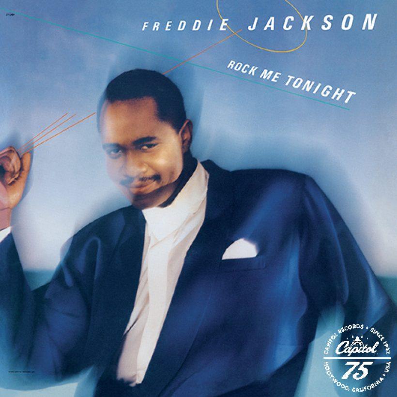 Freddie Jackson Rock Me Tonight Album Cover With Capitol 75 Logo
