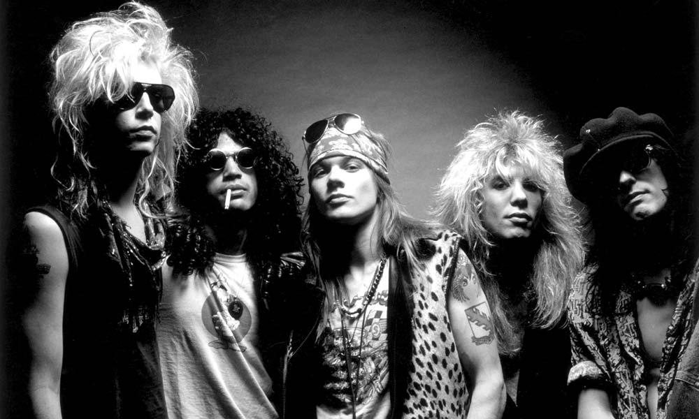 Guns N' Roses credit Ross Halfin