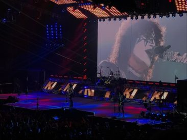 Kiss Rock London's 02 At European Tour Finale