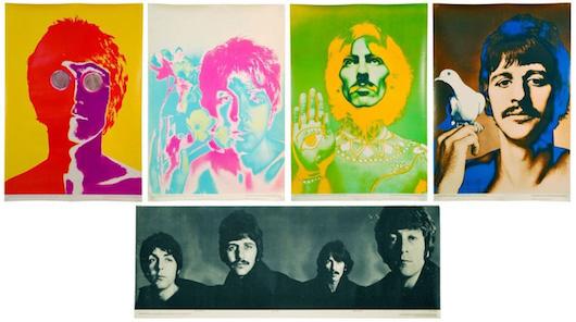 RICHARD-AVEDON-Beatles-Posters