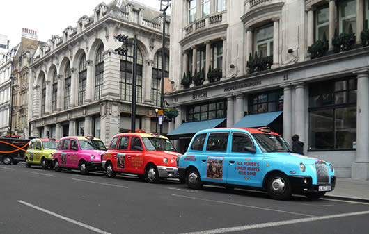 Sgt Pepper Taxis