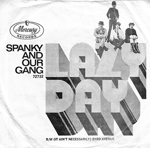 Spank And Our Gang Lazy Day Single Artwork
