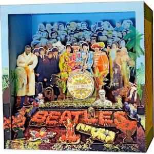 The Beatles Sgt Pepper Diorama