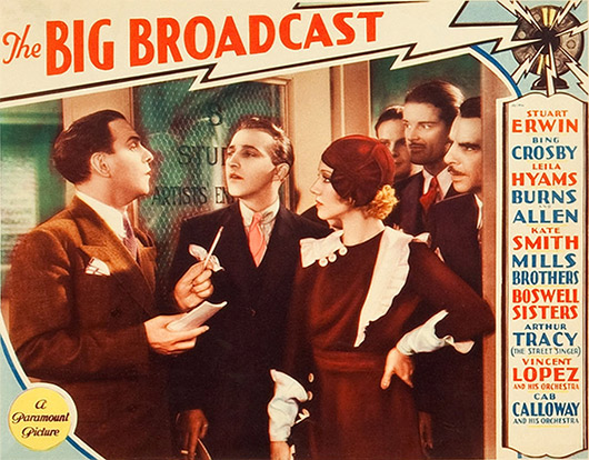 The Big Broadcast Poster