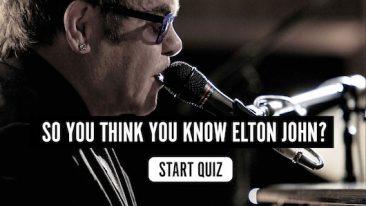 Elton John Music Quiz