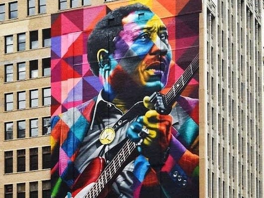 Muddy Waters Mural