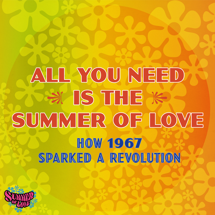 All You Need Is The Summer Of Love uByte artwork - 730