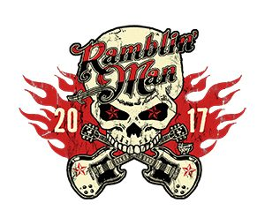 Ramblin' Man 2017 Skull Logo