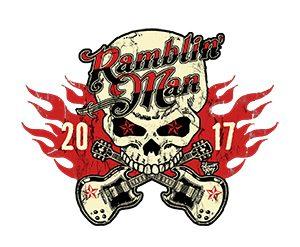Ramblin' Man 2017 Skull Logo