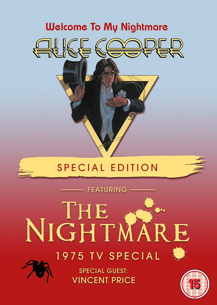 Alice Cooper Has New Nightmare With Special Edition DVD