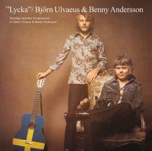 Benny Andersson and Björn Ulvaeus Lycka album cover