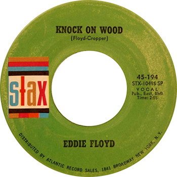 Eddie Floyd Knock On Wood Single Label
