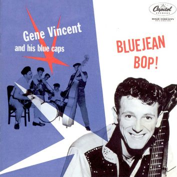 Gene Vincent And His Blue Caps Bluejean Bop Album Cover web optimised 820